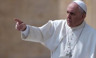 Πάπας Φραγκίσκος: «Είμαι βαθιά ενοχλημένος που δεν μπορείτε να συμφωνήσετε σε ειρήνη στη Συρία»