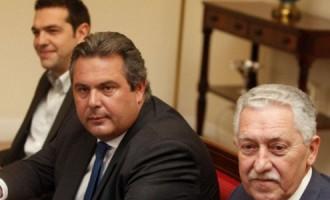 Νέα κόντρα Κουβέλη-Καμμένου για την «ομηρεία» των δυο Ελλήνων στρατιωτικών