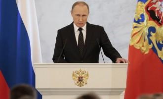 Βλάντιμιρ Πούτιν για Συρία: «Επιτέθηκαν χωρίς την άδεια του Συμβουλίου Ασφαλείας του ΟΗΕ»