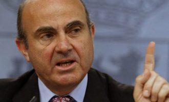 Στον Ισπανό Λουίς Ντε Γκίντος το χρίσμα για την αντιπροεδρία της ΕΚΤ