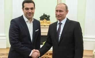 Ο Βλάντιμιρ Πούτιν προσκάλεσε τον Αλέξη Τσίπρα να επισκεφθεί τη Ρωσία
