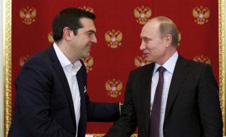 Ο Πούτιν κάλεσε τον Αλέξη Τσίπρα στο Μουντιάλ της Ρωσίας