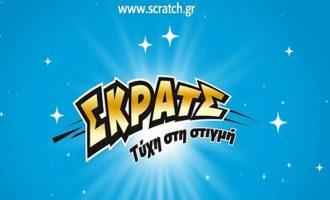 ΟΠΑΠ: Το ΣΚΡΑΤΣ μοίρασε κέρδη 15,6 εκατ. ευρώ τον Νοέμβριο