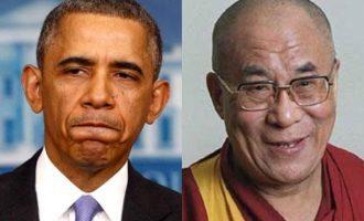 Ο Ομπάμα θα υποδεχτεί τον Δαλάι Λάμα στον Λευκό Οίκο
