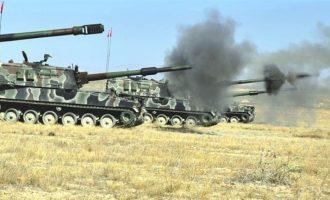 Το τουρκικό πυροβολικό βομβάρδισε τους Κούρδους στη βορειοδυτική Συρία (χάρτης)
