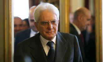 Ο Ματαρέλα ετοιμάζει νέες διαβουλεύσεις για το σχηματισμό κυβέρνησης στην Ιταλία