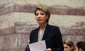 Γεροβασίλη: Ο Μητσοτάκης να απαντήσει για την «ανθελληνική» συμπεριφορά Ξαφά και τις θέσεις Γεωργιάδη για τις offshore