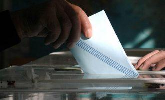 «Κολλημένη» κάτω από το 30% η ΝΔ και σε νέα δημοσκόπηση – Τα κόμματα που μένουν εκτός