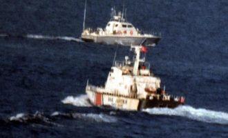 Οι Τούρκοι βαράνε τύμπανα πολέμου στα Ίμια – Αναφέρουν 8 ελληνικά και 11 τουρκικά σκάφη στην περιοχή