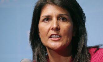 Νίκι Χάλεϊ: Η Δαμασκός δεν είναι άξια να έχει απευθείας συνομιλίες με την Ουάσιγκτον