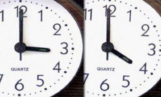 Προσοχή: Αλλάζει η ώρα τα ξημερώματα της Κυριακή – Ίσως για τελευταία φορά