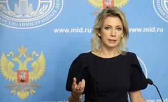 Η Ζαχάροβα κατηγόρησε τις ΗΠΑ ότι υπονομεύουν την εδαφική ακεραιότητα της Συρίας