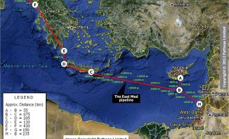 Ελλάδα, Ιταλία, Κύπρος και Ισραήλ υπογράφουν τον αγωγό EastMed και αλλάζουν τον γεωπολιτικό χάρτη Eastmed_pipeline-330x200