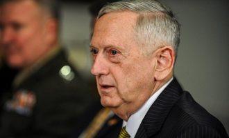 Μάτις: Η Ρωσία επέλεξε να είναι στρατηγικός αντίπαλος των ΗΠΑ