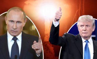 Ο Τραμπ διαμήνυσε μέσω Twitter επικείμενη πυραυλική επίθεση στη Συρία – Οι Ρώσοι έτοιμοι για πόλεμο με τις ΗΠΑ