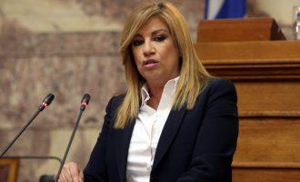 Γεννηματά για συμφωνία με Σκόπια: Θετικό βήμα αλλά όχι ολοκληρωμένη λύση