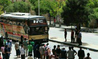 Οι τζιχαντιστές της Τζαΐς Αλ Ισλάμ που εκκενώνουν τη Ανατολική Γούτα θα μεταφερθούν ως έποικοι στην Εφρίν