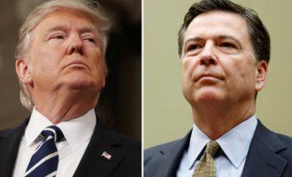 """Τραμπ: """"Γλίτσα"""" και """"βύσμα"""" ο Κόμεϊ – Μακράν ο χειρότερος διευθυντής του FBI"""