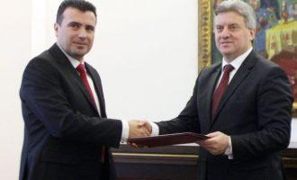 Η αλβανική γλώσσα διχάζει τα Σκόπια –  Ο Ζάεφ κατά του ρωσόφιλου «αρχαιομακεδονιστή» Ιβάνοφ