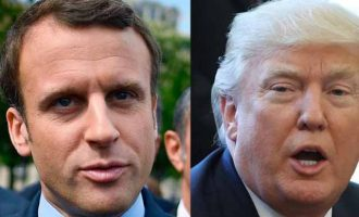 Τραμπ – Μακρόν: Να πολεμήσουμε έως το τέλος το Ισλαμικό Κράτος