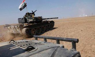 Ο ιρακινός στρατός πλησιάζει την πόλη του Κιρκούκ
