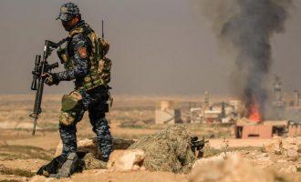 Τζιχαντιστές του ISIS μπορεί να κρύβονται σε λαγούμια κάτω από τη Χαουίτζα στο Ιράκ