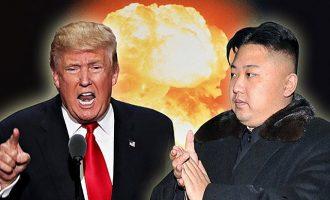 Ο Τραμπ το είπε και στον Μακρόν: Οι ΗΠΑ έτοιμες για «στρατιωτικά μέτρα» εναντίον της Β. Κορέας