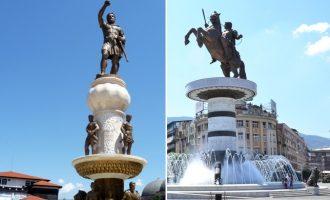 Τα αγάλματα θα παραμείνουν στα Σκόπια ως ελληνικά – Θα μπουν επιγραφές ότι είναι της «ελληνικής περιόδου»