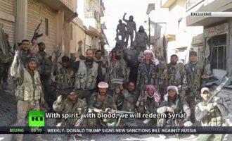 Ο συριακός στρατός απελευθέρωσε την πόλη Αλ Σούχνα από το Ισλαμικό Κράτος