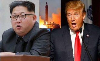 Δημοσκόπηση σοκ: Οι Αμερικανοί πολίτες θέλουν πόλεμο με τη Βόρεια Κορέα