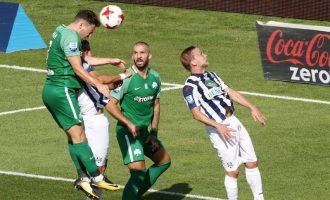 Super League: Επιτέλους νίκη για τον Παναθηναϊκό 1-0 τον Απόλλωνα Σμύρνης