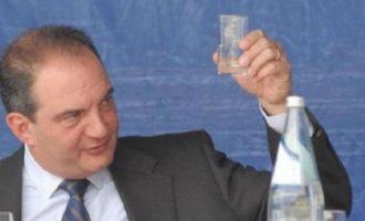 Με ποιους συνέφαγε ο Κώστας Καραμανλής στη Θεσσαλονίκη