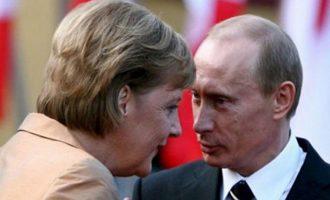 Η Μέρκελ θέλει να δει τον Πούτιν για φυσικό αέριο και Συρία – Έχει δυσκολέψει η σκακιέρα