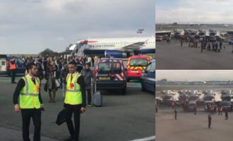 """Πανικός στο Παρίσι: """"Άμεση απειλή"""" σε αεροσκάφος το ανάγκασε σε αναγκαστική προσγείωση (βίντεο)"""