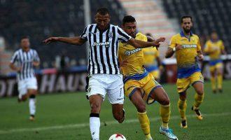 Super League: Δύσκολη νίκη του ΠΑΟΚ με 1-0 επί του Παναιτωλικού