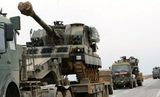 Τουρκικές δυνάμεις αναπτύσσονται στην επαρχία Ιντλίμπ της Συρίας