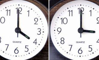 Αλλαγή ώρας την Κυριακή – Ίσως για τελευταία φορά θα έχουμε θερινή ώρα