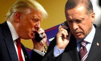 Ο Ερντογάν θα τηλεφωνήσει στον Τραμπ για να του πει ότι θα καταλάβει όλη τη βόρεια Συρία