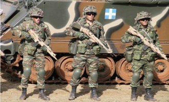 Στην τρίτη θέση της Ε.Ε. η Ελλάδα στους ετοιμοπόλεμους στρατούς