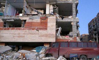 415 νεκροί και χιλιάδες τραυματίες από τον σεισμό 7,3 Ρίχτερ στα σύνορα Ιράν-Ιράκ