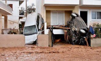 Τόσκας: Ετοιμάζεται σχεδιασμός για στέγαση και διατροφή πληγέντων