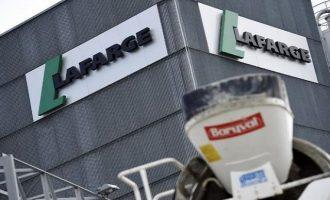 Έφοδος στα γραφεία της τσιμεντοβιομηχανίας Lafarge στο Παρίσι – Kατηγορείται για χρηματοδότηση του ΙSIS
