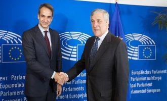 Μητσοτάκης: H πολιτική αλλαγή στην Ελλάδα προϋπόθεση για το τέλος της λιτότητας