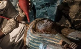 Ρώσοι αρχαιολόγοι ανακάλυψαν σημαντική μούμια στην Αίγυπτο
