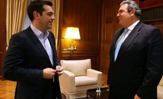 """Ο Καμμένος """"σκότωσε"""" τα σενάρια κρίσης: Με τον ΣΥΡΙΖΑ μέχρι τέλους"""