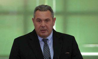 Ο Καμμένος μίλησε πάλι για ομηρεία των Ελλήνων στρατιωτικών και ζήτησε απελευθέρωση