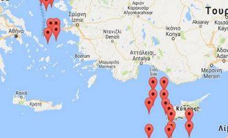 Aνεβάζει την ένταση η Τουρκία και απειλεί το Αιγαίο και την Κύπρο