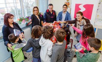 Η ΕΚΟ μοιράζει παιχνίδια, χαρά και χαμόγελα