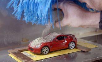 Το μικροσκοπικό πλυντήριο αυτοκινήτων της Nissan