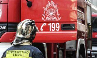 Φωτιά άρπαξε ηλεκτρική κουβέρτα στη Ζαχάρω Ηλείας